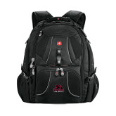 Wenger Swiss Army Mega Black Compu Backpack-Potsdam Bears - Official Logo