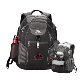 High Sierra Big Wig Black Compu Backpack-Potsdam Bears - Official Logo