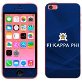iPhone 5c Skin-Pi Kappa Phi Stacked