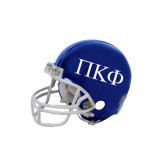 Riddell Replica Royal Mini Helmet-Greek Letters