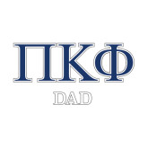 Dad Decal-Greek Letters - 2 Color