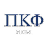 Mom Decal-Greek Letters - 2 Color
