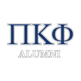 Alumni Decal-Greek Letters - 2 Color