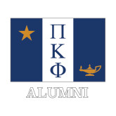 Alumni Decal-Flag