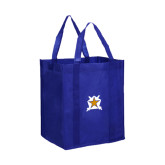 Non Woven Royal Grocery Tote-Star