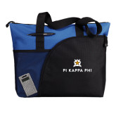 Excel Royal Sport Utility Tote-Pi Kappa Phi Stacked