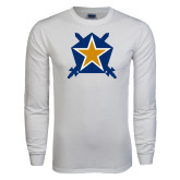 White Long Sleeve T Shirt-Star