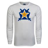 White Long Sleeve T Shirt-Star