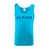 Light Blue Tank Top-Arched Pi Kapp