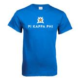 Royal T Shirt-Pi Kappa Phi Stacked