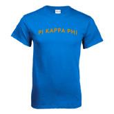 Royal T Shirt-Arched Pi Kappa Phi