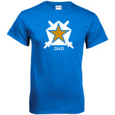 Royal T Shirt-Dad - White Badge