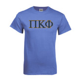 Arctic Blue T Shirt-Greek Letters - 2 Color