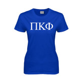 Ladies Royal T Shirt-Greek Letters
