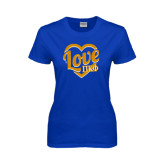 Ladies Royal T Shirt-Love In Heart