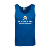 Royal Tank Top-Pi Kappa Phi - Exceptional Leaders.Uncommon Opportunities.