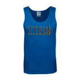 Royal Tank Top-Greek Letters - 2 Color