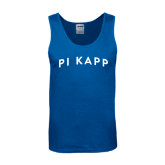 Royal Tank Top-Arched Pi Kapp