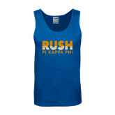 Royal Tank Top-Rush