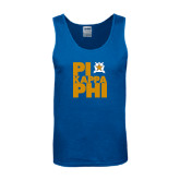 Royal Tank Top-Big Pi Stacked