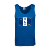 Royal Tank Top-Flag Distressed