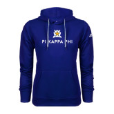 Adidas Climawarm Royal Team Issue Hoodie-Pi Kappa Phi Stacked