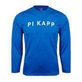 Performance Royal Longsleeve Shirt-Arched Pi Kapp