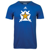 Adidas Climalite Royal Ultimate Performance Tee-Star