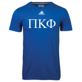 Adidas Climalite Royal Ultimate Performance Tee-Greek Letters