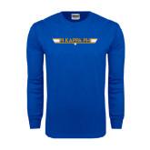 Royal Long Sleeve T Shirt-Top Gun