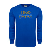 Royal Long Sleeve T Shirt-Founders stacked
