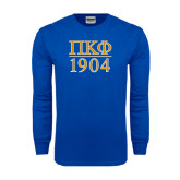 Royal Long Sleeve T Shirt-1904 Stacked