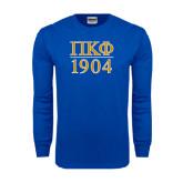 Royal Long Sleeve T Shirt-1904 Stacked