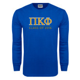 Royal Long Sleeve T Shirt-Class of 2016