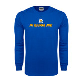Royal Long Sleeve T Shirt-Geometric
