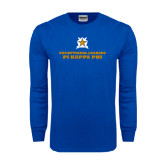 Royal Long Sleeve T Shirt-Half Tone Stacked