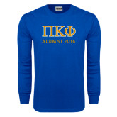 Royal Long Sleeve T Shirt-Alumni of 2016