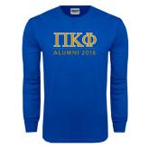 Royal Long Sleeve T Shirt-Alumni of 2016