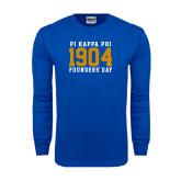Royal Long Sleeve T Shirt-1904 Stacked Big