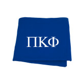 Royal Sweatshirt Blanket-Greek Letters
