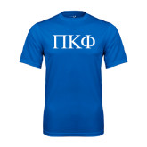 Syntrel Performance Royal Tee-Greek Letters