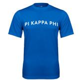Performance Royal Tee-Arched Pi Kappa Phi
