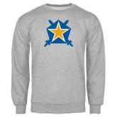 Grey Fleece Crew-Star
