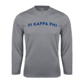 Performance Steel Longsleeve Shirt-Arched Pi Kappa Phi