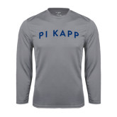 Performance Steel Longsleeve Shirt-Arched Pi Kapp