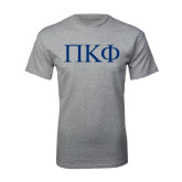 Sport Grey T Shirt-Greek Letters