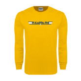 Gold Long Sleeve T Shirt-Top Gun