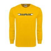 Gold Long Sleeve T Shirt-Top Gun