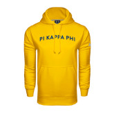 Under Armour Gold Performance Sweats Team Hoodie-Arched Pi Kappa Phi