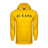 Under Armour Gold Performance Sweats Team Hoodie-Arched Pi Kapp